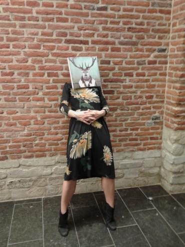 kobieta jeleń